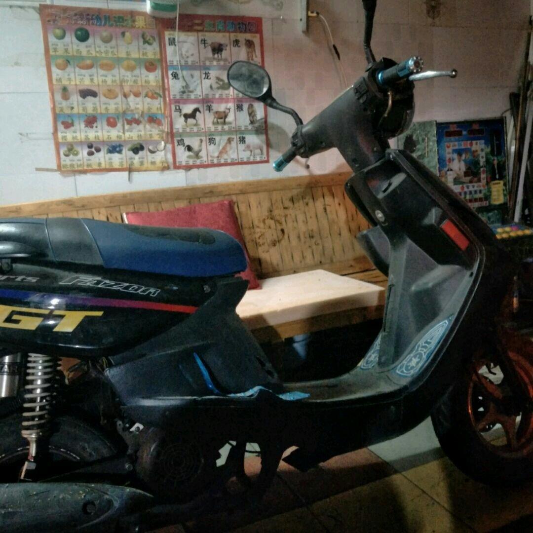 山羊125摩托车电路图