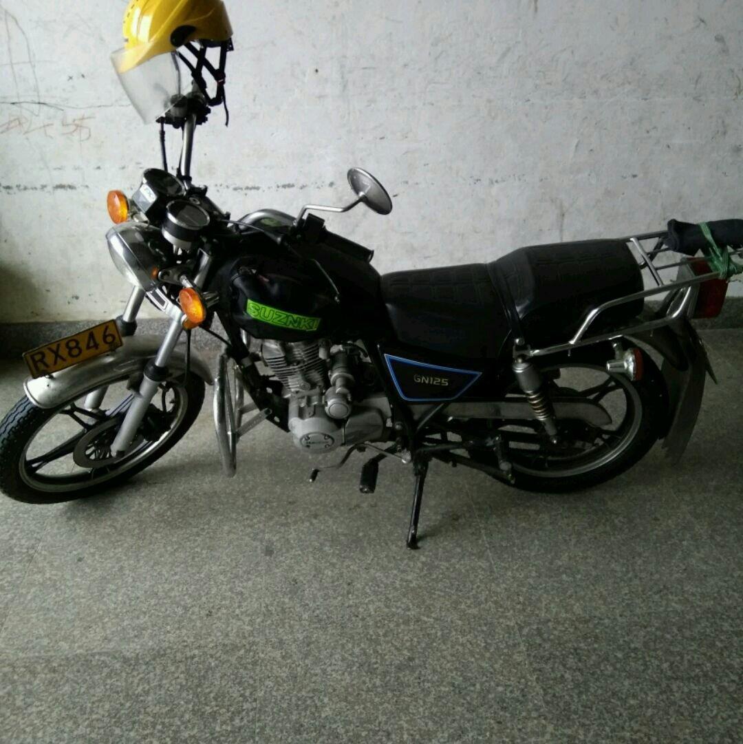 石狮车辆买卖与服务 石狮二手摩托车  09年铃木海王星便宜卖了,成色看